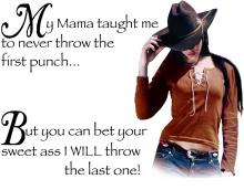 My Mamma Taught Me