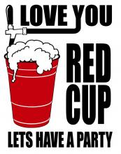 Red Cup Lets Have A Party