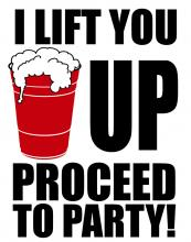 Red Cup Proceed To Partyl