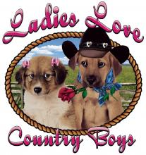 Ladies Love Country Boys-Puppies