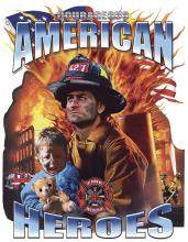 American Heroes-Fireman W/Child