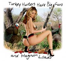 Turkey Hunters Have Big Guns