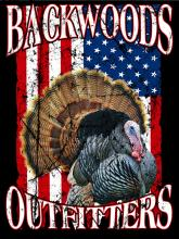 Backwoods Turkey w/American Flag