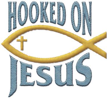 Hooked On Jesus W/Fish