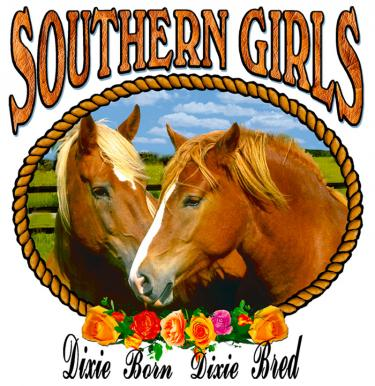 Southern Girls-Dixie Born Dixie Bred