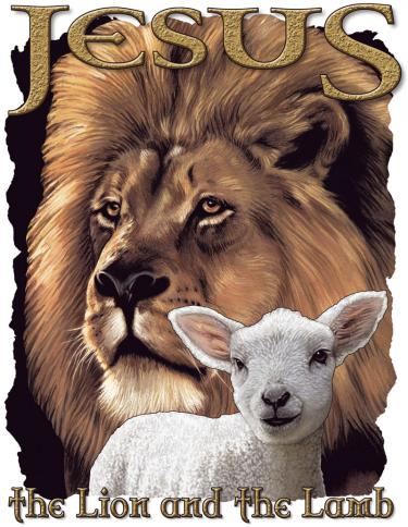 Jesus-The Lion And The Lamb